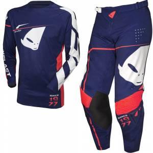 UFO Slim Sharp Blue Motocross Kit Combo
