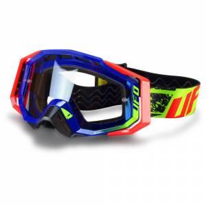 UFO Mystic Blue Motocross Goggles