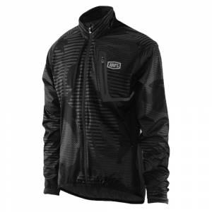 100% Hydromatic Black Camo Jacket