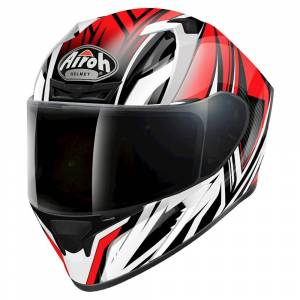 Airoh Valor Conquer Red Full Face Helmet