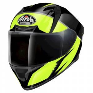 Airoh Valor Eclipse Yellow Full Face Helmet