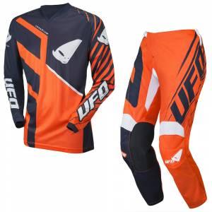 UFO Vanadium Blue Neon Red Motocross Kit Combo