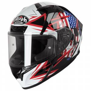 Airoh Valor Sam Black Full Face Helmet