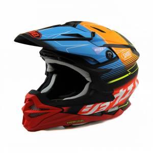 Shoei VFX-WR Zinger TC10 Motocross Helmet