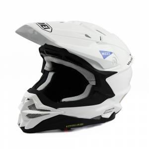 Shoei VFX-WR White Motocross Helmet