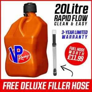 VP Racing 20L Quick Fuel Jug Square - Orange