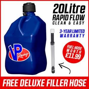 VP Racing Fuel Jug 20 Litre Square - Blue