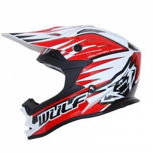 Wulfsport Advance Red Motocross Helmet