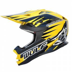 Wulfsport Advance Yellow Helmet