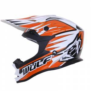 Wulfsport Advance Orange Motocross Helmet
