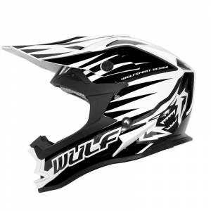 Wulfsport Advance Black Motocross Helmet