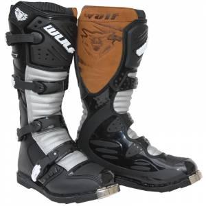 Wulf Superboot LA Libre X1 Motocross Boots - Black