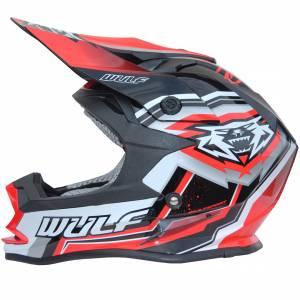 Wulfsport Vantage Red Motocross Helmet