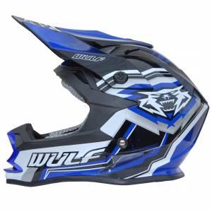 Wulfsport Vantage Blue Motocross Helmet