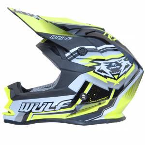 Wulfsport Vantage Yellow Motocross Helmet