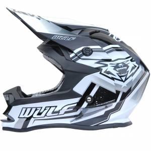 Wulfsport Vantage Black Motocross Helmet