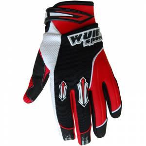 Wulfsport Kids Stratos Cub Red Motocross Gloves