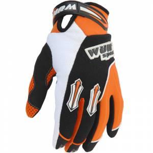 Wulfsport Kids Stratos Cub Orange Motocross Gloves