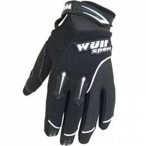 Wulfsport Kids Stratos Cub Black Motocross Gloves
