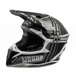 Airoh Wraap Broken Anthracite Motocross Helmet