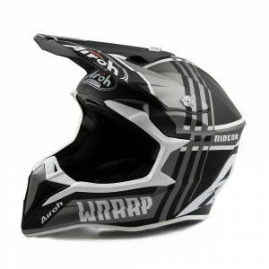 Wraap Broken Anthracite Matt MX Helmetmet