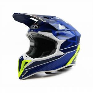 Airoh Wraap Mood Blue Motocross Helmet