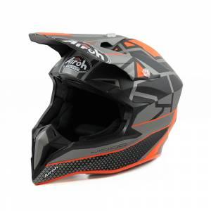 Airoh Wraap Mood Orange Motocross Helmet