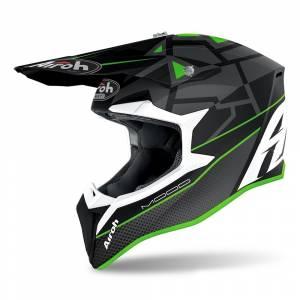 Airoh Wraap Mood Green Motocross Helmet