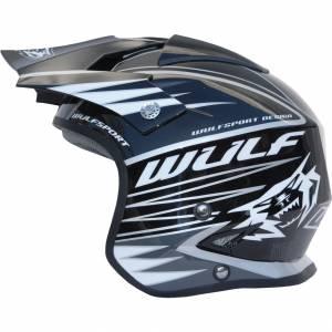 Wulfsport Tri Action Black Trials Helmet