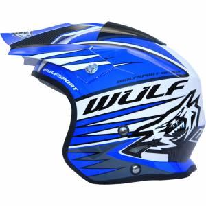 Wulfsport Tri Action Blue Trials Helmet