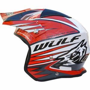 Wulfsport Tri Action Red Trials Helmet