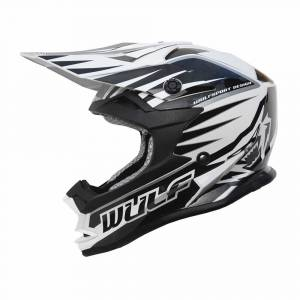 Wulfsport Kids Advance Black Motocross Helmet