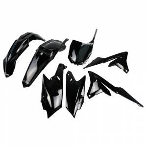 Yamaha Plastic Kit YZF 250 (14-18) 450 (14-17) Black