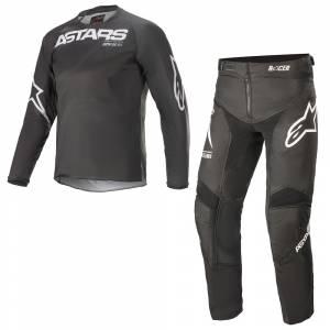 Alpinestars Kids Racer Braap Black Anthracite Motocross Kit Combo