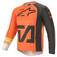 Alpinestars Kids Racer Compass Orange Anthracite White Motocross Jersey