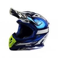 Airoh Aviator 2.2 Cairoli Ottobiano Blue Motocross Helmet