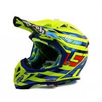 Airoh Aviator 2.2 Cairoli Qatar Yellow Motocross Helmet