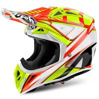Airoh Aviator 2.2 Double Orange Motocross Helmet