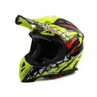 Airoh Aviator 2.2 Grim Yellow Motocross Helmet