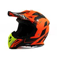 Airoh Aviator 2.3 Bigger Orange Motocross Helmet