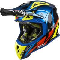 Airoh Aviator 2.3 Great Blue Chrome Motocross Helmet
