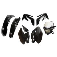 UFO Plastic Kit Honda CRF 250X Black
