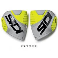 Sidi Crossfire 3 Black Ash Yellow Fluo Boot Shin Plate