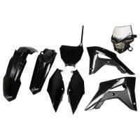 UFO Plastic Kit Honda CRF 250RX 450RX Black