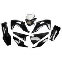 UFO Plastic Kit Husqvarna TE-TX FE Black