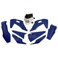 UFO Plastic Kit Husqvarna TE-TX FE Blue
