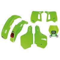 UFO Plastic Kit Kawasaki KDX 200 Green