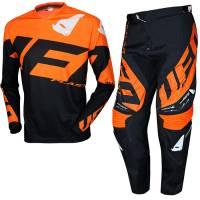 UFO Kids Mizar Orange Black Motocross Kit Combo
