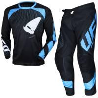 UFO Proton Black Motocross Kit Combo