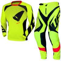 UFO Proton Neon Yellow Motocross Kit Combo